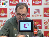 Bielsa alaba a Messi