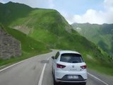 Seat Leon Cupra on the 10 most spectacular roads in the world