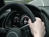 Audi R8 Spyder Driving Video in Yellow