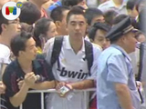 Locura en China con el Real Madrid